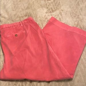 Gap Coral Wide Leg Crop Pants
